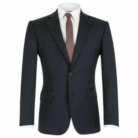 Alexandre Plain Navy Wool Jacket