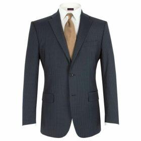 Pierre Cardin Stripe notch lapel jacket