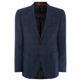 Hugo Regular Fit Bold Check Jacket