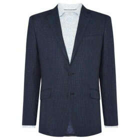 Richard James Linen Puppytooth O`Toole Jacket