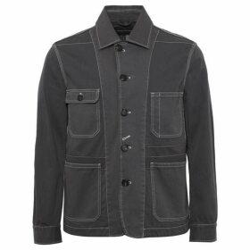 French Connection Pigment Garment Dye Mix Jacket