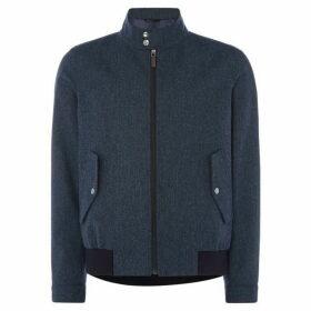 Simon Carter Herringbone Bomber Jacket