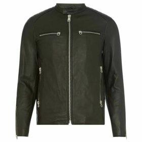 Replay Zip-Front Biker Jacket