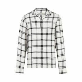Armani Exchange Long Sleeve Zip Up Fleece Jacket