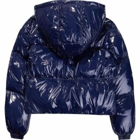 Tommy Hilfiger Tommy Jeans Wet Look Puffa Jacket