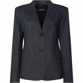 Max Mara Studio Mirco jacket with double pocket
