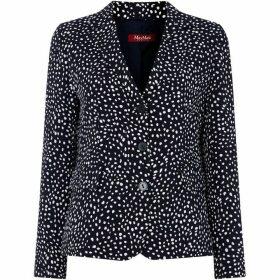 Max Mara Studio Lodola single breast jacket