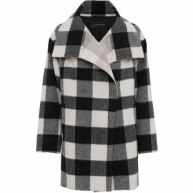 French Connection Jackie Checked Coat