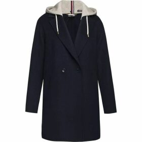 Tommy Hilfiger Ivo Hooded Wool Blend Coat