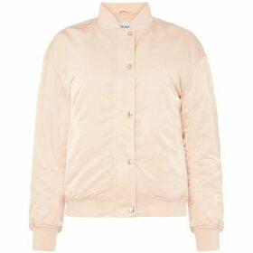 Calvin Klein Jeans Button Up Nylon Bomber Jacket