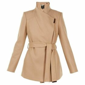 Ted Baker Rytaa Short Wool Wrap Coat