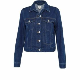 French Connection Macee Micro Western Denim Jacket