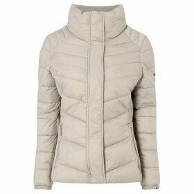 Barbour International Exclusive Camier Quilted Funnel Neck Jacket