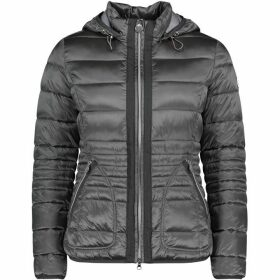Betty Barclay Quilted Jacket With Hood