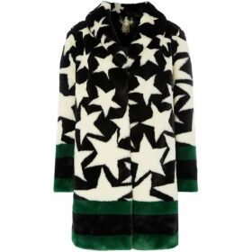 Biba Star faux fur coat
