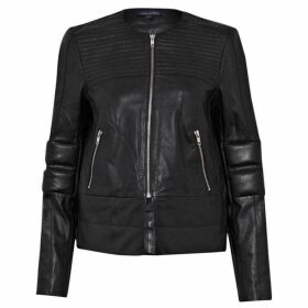 French Connection Jetson leather Biker Jacket