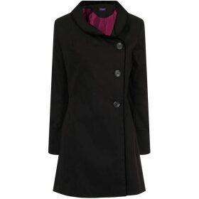 HotSquash Black Rain & Stain Resistant Coat