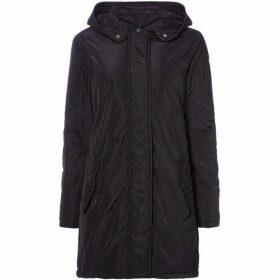 Maison Scotch Black parka coat