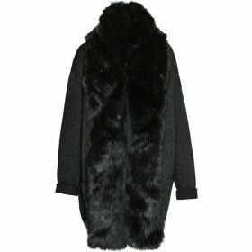 French Connection Double Sided Vhari Faux Fur Coatigan