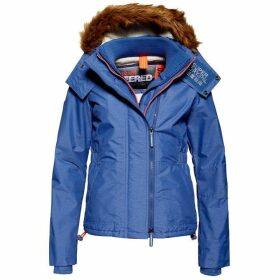 Superdry Hooded Faux Fur Sherpa Wind Attacker Jacket