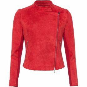 French Connection Ellef Suedette Biker Jacket