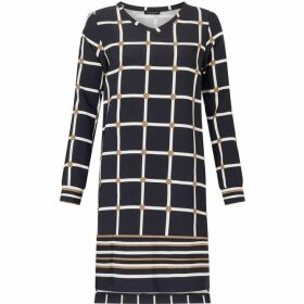 James Lakeland Print Dress With Split