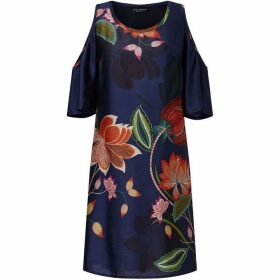 James Lakeland Cold Shoulder Print Dress