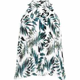 Damsel in a Dress Nadia Snake Palm Print Top