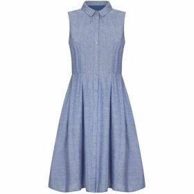 Yumi Mid Chambray Shirt Dress