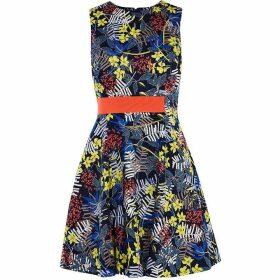 Karen Millen Fit & Flare Floral Dress