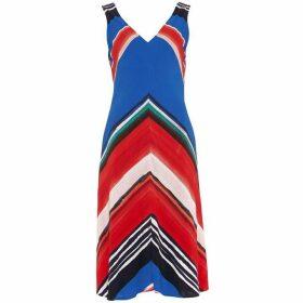 Phase Eight Cersi Chevron Stripe Dress