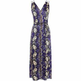Karen Millen Snakeskin Print Dress