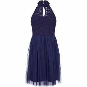 Yumi Lace And Mesh Party Dress