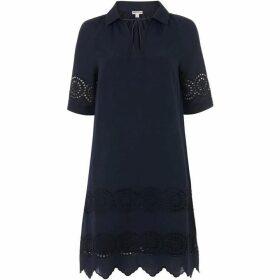 Whistles Broderie Shirt Dress
