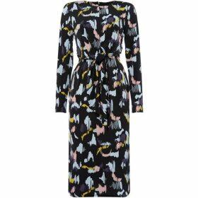 Linea Tie Front Jersey Dress