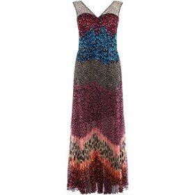 Karen Millen Blocked Print Dress