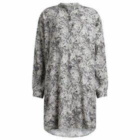 All Saints Cayla Paisley Shirt Dress