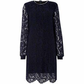 Lauren by Ralph Lauren Yaritza scallop dress