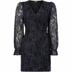 Fashion Union Lace wrap dress