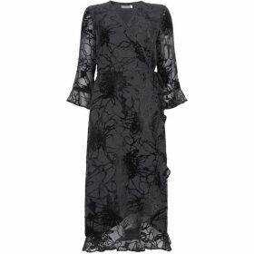 Mint Velvet Ellie Devore Wrap Dress