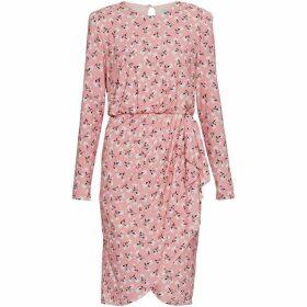 Gina Bacconi Ricci Floral Jersey Dress