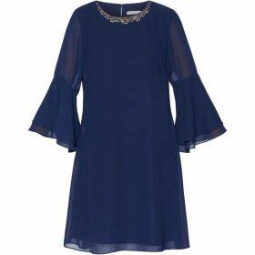 Gina Bacconi Belora Chiffon Dress