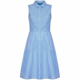 Yumi Stripe Shirt Dress