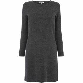 Warehouse Bobble Stitch Knitted Dress