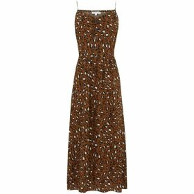 Warehouse Leopard Print Cami Dress