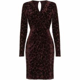 Phase Eight Stella Velvet Wrap Dress