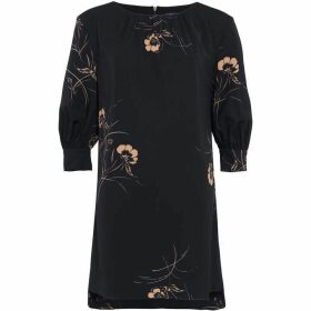 French Connection Mahi Crepe Floral Tunic Dress