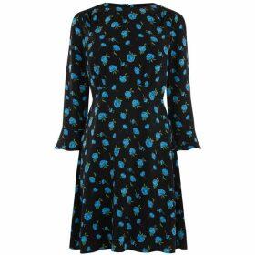 Oasis Blue Rose Dress