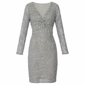 Gina Bacconi Janella Sequin Lace Dress