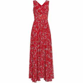 Gina Bacconi Santesa Chiffon Dress